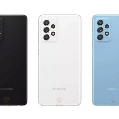 Samsung Galaxy A52 все цвета